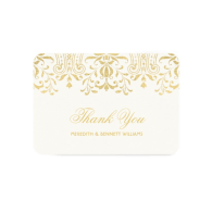 flat_thank_you_note_card_gold_vintage_glamour_invitation-161606688351195936