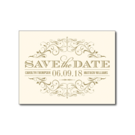 ivory_and_gold_save_the_date_swirl_and_flourish_postcard-239753986683896098