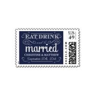 rustic_navy_blue_chalk_wedding_postage-172089001775343516