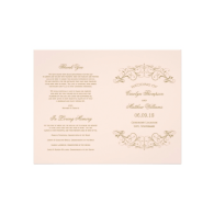wedding_programs_antique_gold_flourish_flyer-244623990423751775