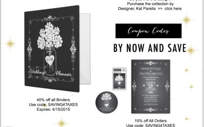 Wedding Invitation Discounts starting April 9, 2015