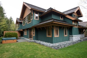 Luxury Whistler Rental at Montebello Exterior