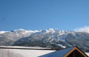 View of Blackcomb Mountain from Montebello Vacation Rental by Owner in Whistler BC