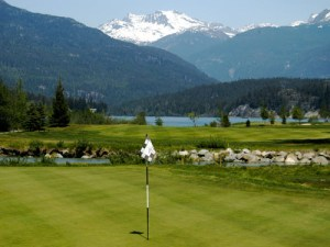 Whistler Golfing on Green Lake at Nicklaus North