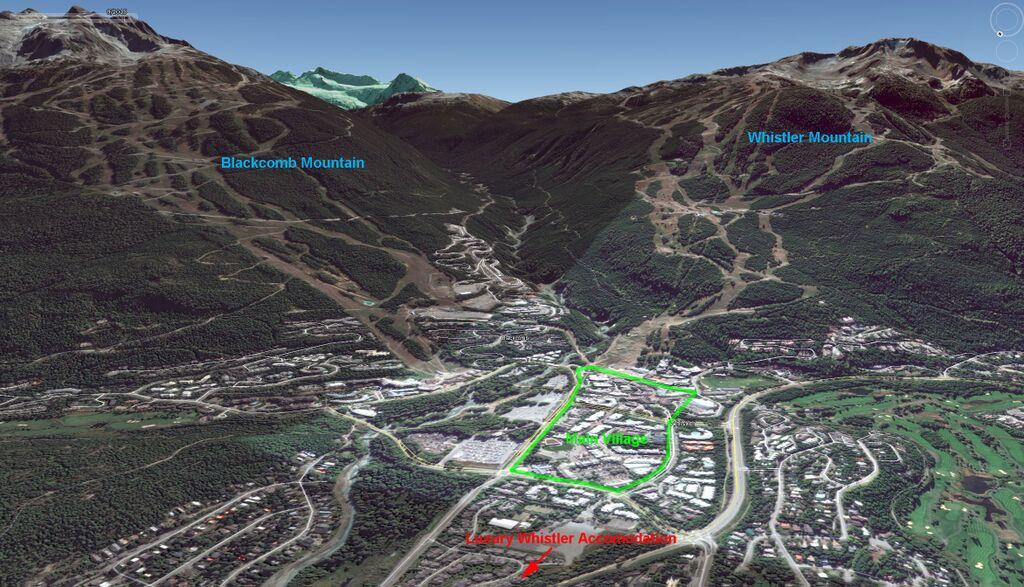 Whistler Montebello 3D Map Summer