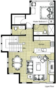 Whistler Montebello Floorplans Upper Floor