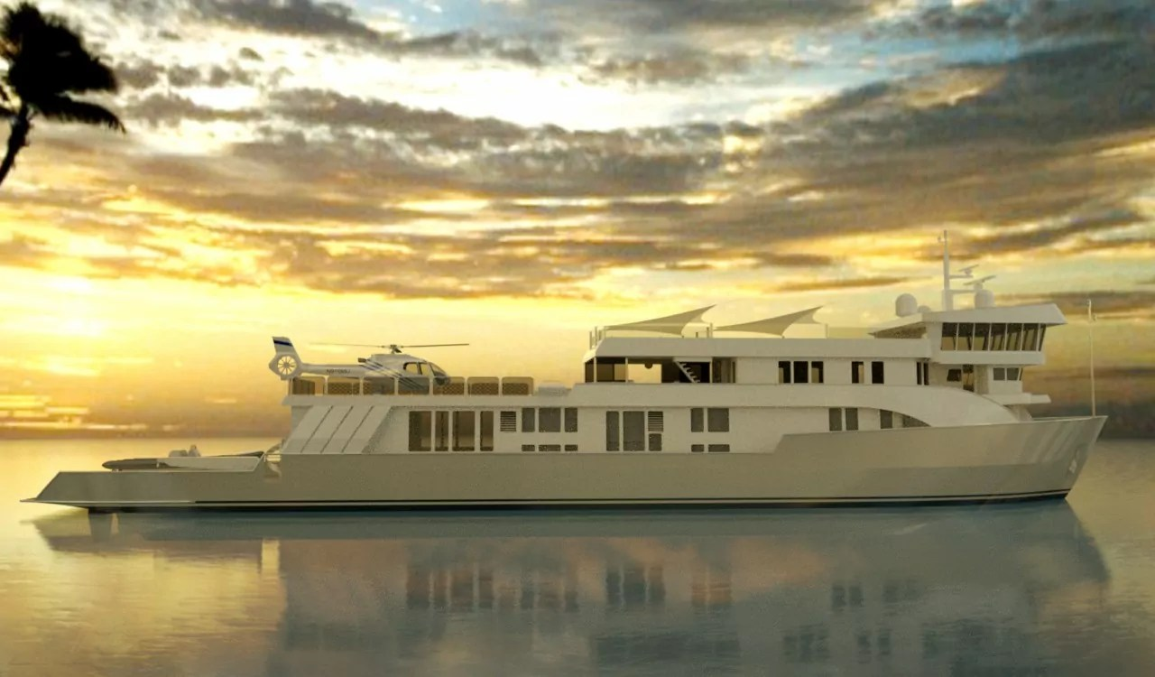 Luxury Superyacht SuRi VIDEO CKIM Group
