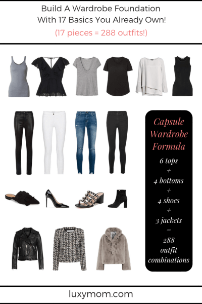 The Ultimate Capsule Wardrobe Example – 288 Outfits From 17 Pieces of Clothing You Already Own