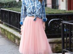How To Wear Tulle Skirts for A Girls Night Out