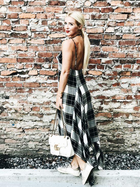 Maxi Dress Outfit Idea