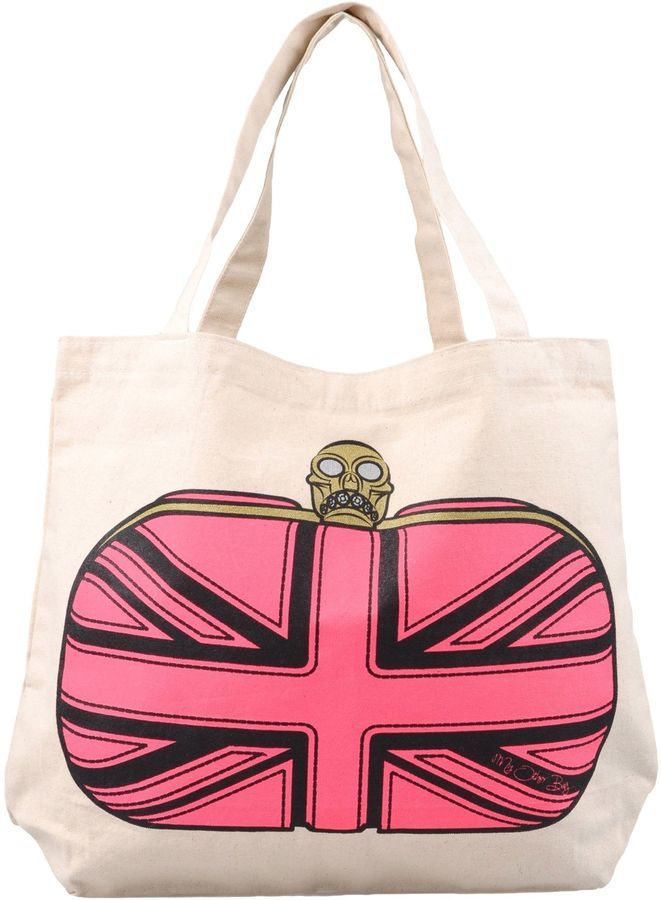 My Other Bag Alexander McQueen Canvas Tote