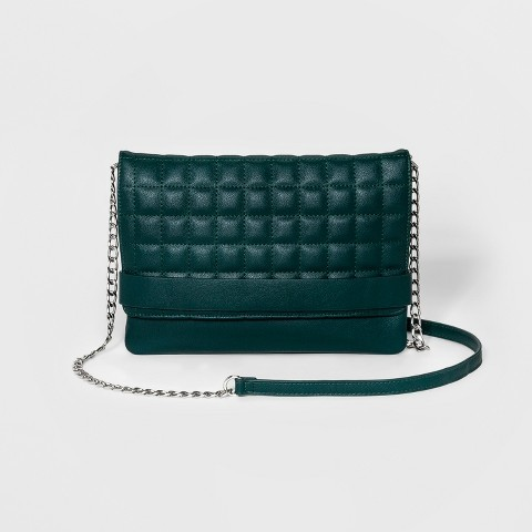 Mossimo Green Quilted Bag from Target