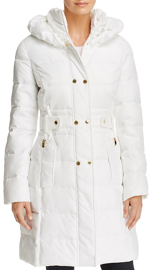 white puffer jacket winter coat women