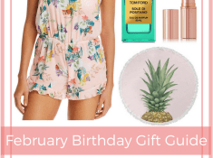 February Birthday Gift Guide for Moms - Beach Theme Gifts - LUXYMOM™ Blog Post - Pinterest