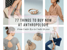 77 Things To Buy Now At Anthropologie
