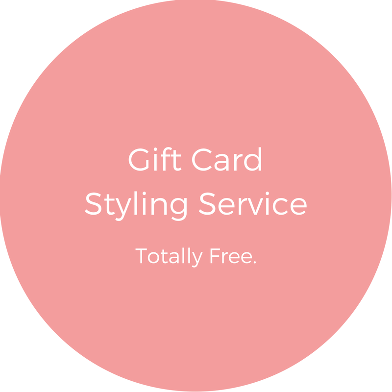 Gift Card Styling Service Icon