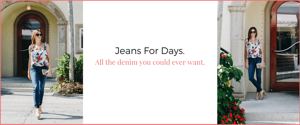 LUXYMOM Boutique Jeans