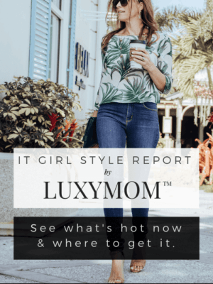 luxymom it girl style report