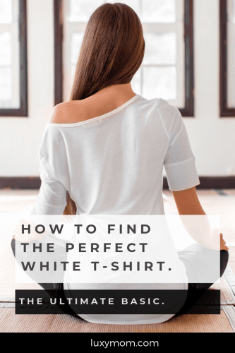 how to find the perfect white tee