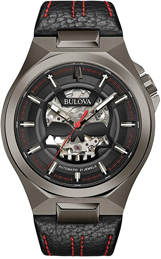 Bulova 98A237Exposed Gear Watches