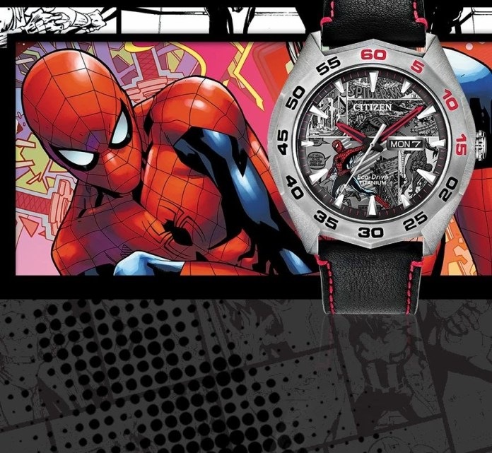 Citizen fictional and cartoon character watches