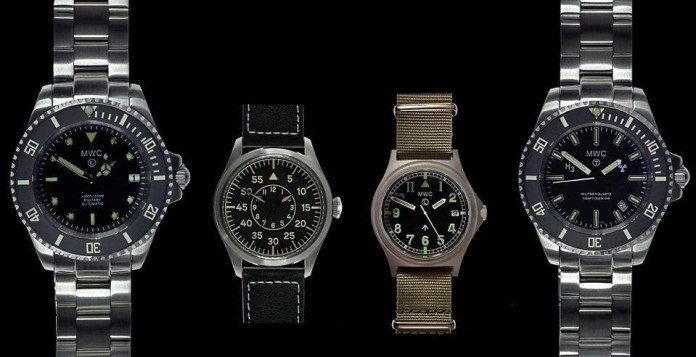 MWC Watches - Military level watches