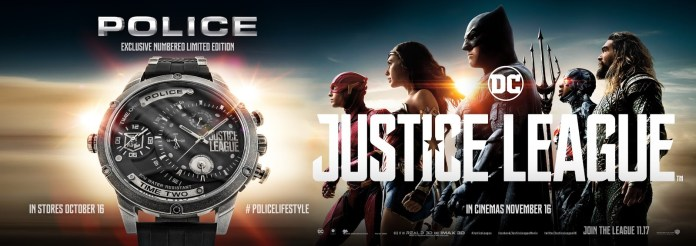 Police watches Justice League