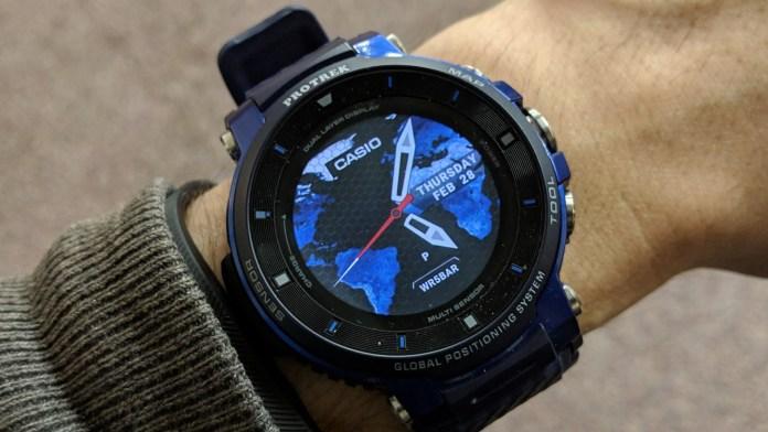 WSD-F30 Protrek Best Outdoor Casio Watch