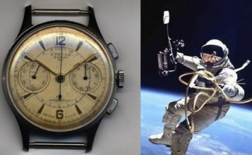 Russian watches into space
