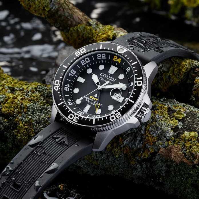 Citizen Super Titanium Promaster Diver GMT BJ7110-03F