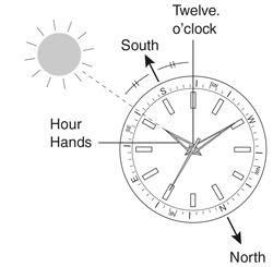 How to use a compass watch