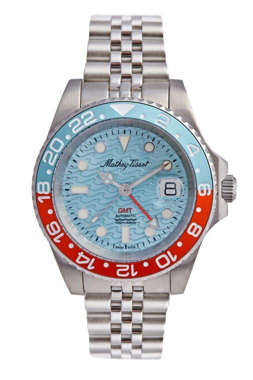 Mathey Tissot GMT Automatic Watch