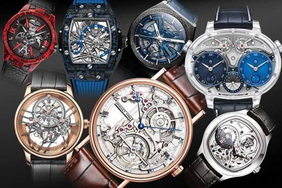 Skeleton Watch Dials