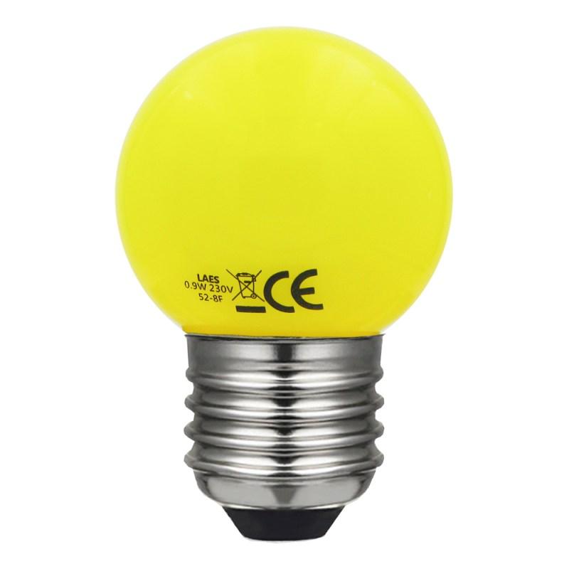 esférica led amarillo