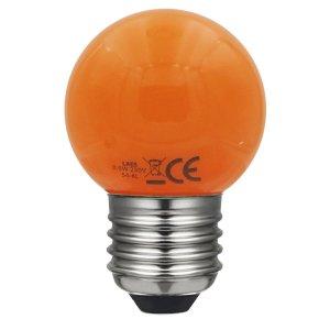 esférica naranja