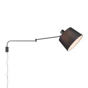 lámpara punto desplazado baldo negro