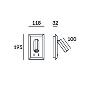 medidas aplique lector class 11.2W