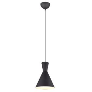 Lámpara de techo enzo negro