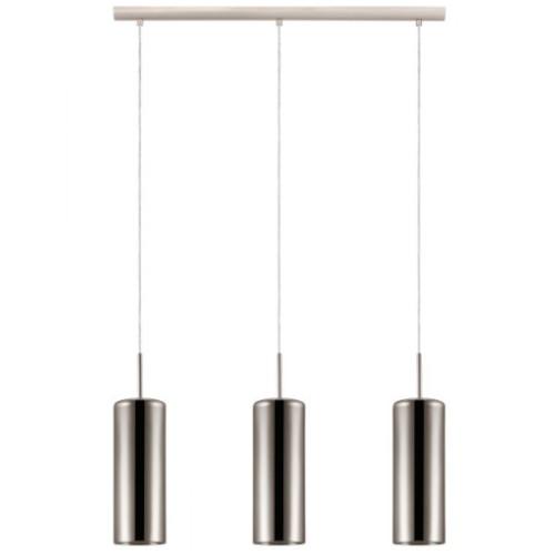 Lámpara de techo Selvino níquel