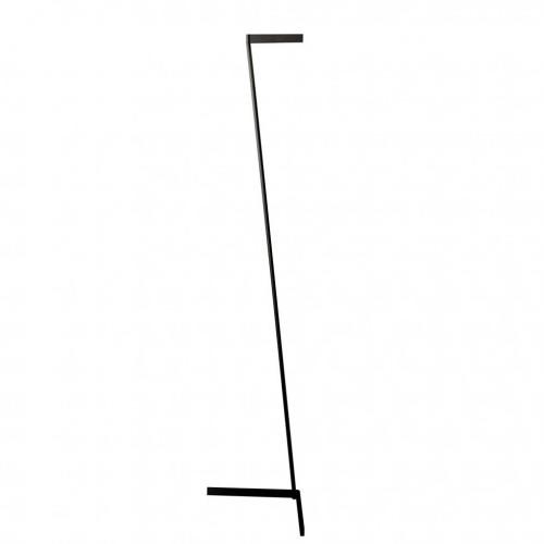 Lámpara de pie Vector negro