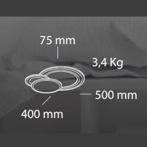 medidas Lámpara de techo Belinus pequeño