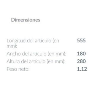 medidas Lampara de techo Marojales 2L