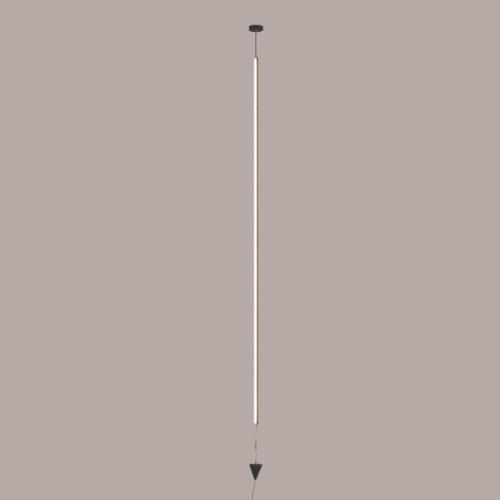 Lámpara de techo Vertical negro