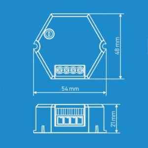 medidas Sensor infrarrojo led