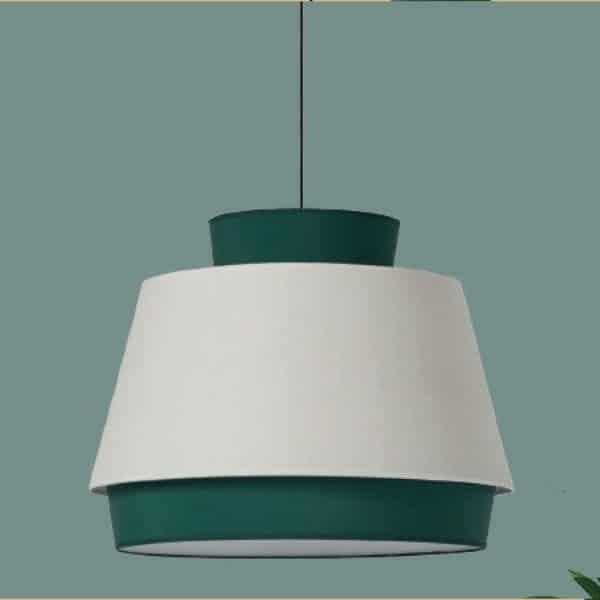 lámpara de techo aspen-m verde