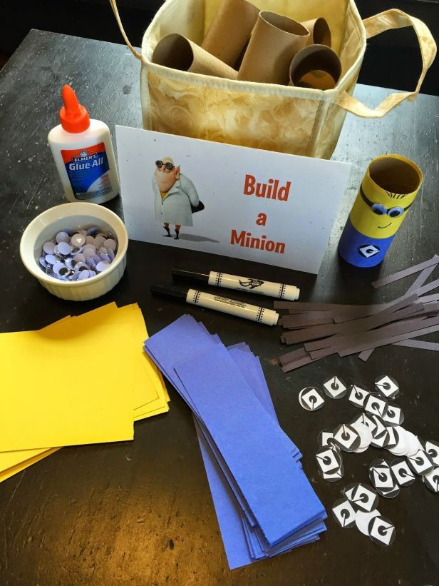 Minion Party Build a Minion