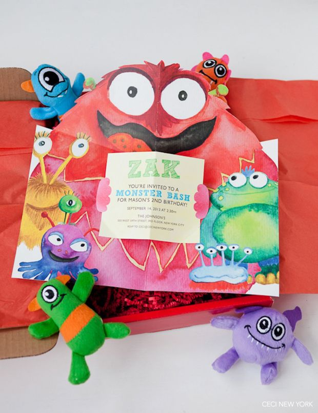 monster_themed_birthday_party_children_kids_creatures_watercolor_luxury_party_invitation_v168_om_1c
