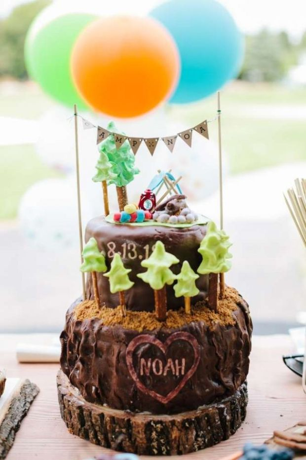 5-boys-camping-themed-1st-birthday-party-ideas