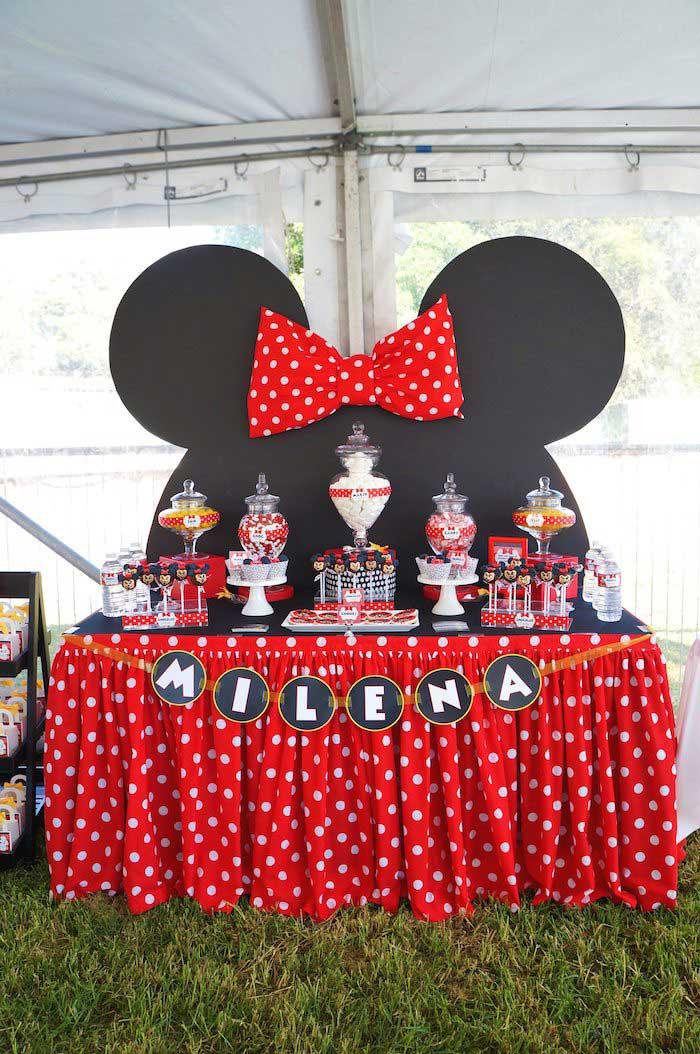 Vestidos de minnie mouse para fiesta