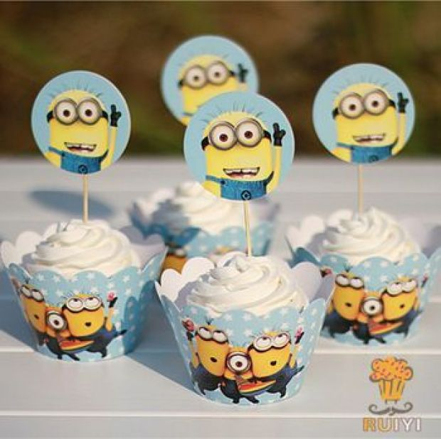 2014-Despicable-ME-Minions-cupcake-wrappers-toppers-picks-kids-birthday-party-favors-supplies-60pcs-wraps-60.jpg_350x350